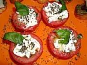 Mozzarella - Tomaten - Rezept
