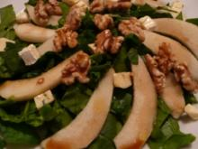 Fruchtiger Spinatsalat - Rezept