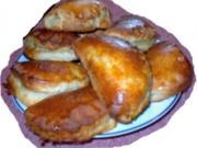 Apfeltaschen aus Quarkölteig - Rezept