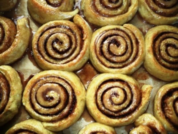 Zimtschnecken - Cinnamon Rolls - Rezept