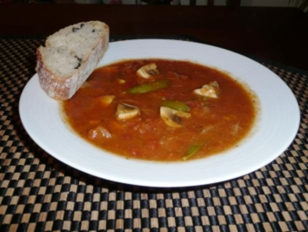 Die kaum-Kalorien-aber-trotzdem-lecker Gemüsesuppe - Rezept