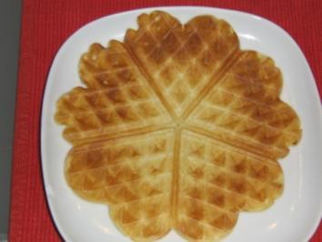 Herz-Pfannkuchen - Rezept