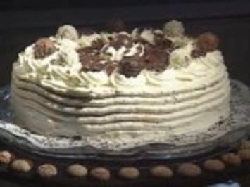 Amaretto Trüffel Sahne Torte - Rezept