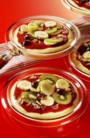 Pizza-Pudding - Rezept