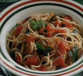 Spaghetti con pomodoro - Rezept