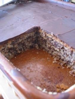Pflaumen-Schokoschnitten vom Blech - Rezept