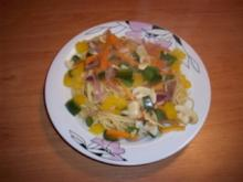 Spaghetti mit Gemüse - Rezept