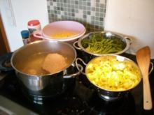 Grüne-Bohnen-Rindfleisch-Topf - Rezept
