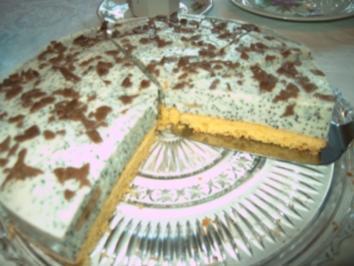 Mohn-Joghurt-Torte - Rezept