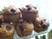 Kokos-Kirsch-Muffin - Rezept