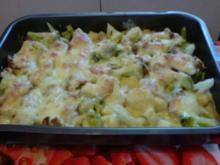 Blumenkohl-Brokkoli-Gratin - Rezept