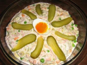 Rusischer Salat - Rezept