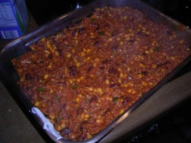 TORTILLA CHIPS Auflauf - Chilli Con Carne - Rezept - Bild Nr. 8