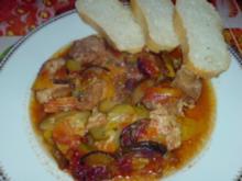 Gemüse-Letscho-Pfanne - Rezept