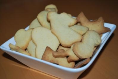 Rezept: Einfache Butterplätzchen