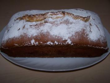 Amaretto-Kirsch-Kuchen - Rezept
