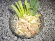 Selleriesalat mit Porree und Walnüssen - Rezept