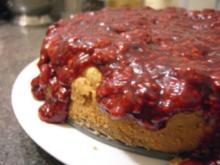 Kuchen: Cheesecake mit Beeren-Deckel ;-) - Rezept