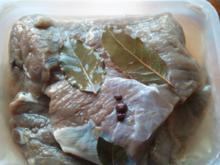 Fleisch: Sauerbraten - Rheinischer Sauerbraten vom Pferd - Rezept