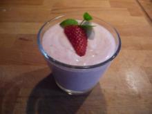 Kokos-Quark mit Erdbeeren - Rezept