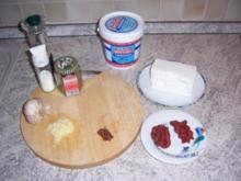 Yoghurt Käse Dipp - Rezept