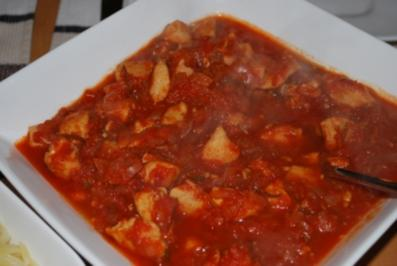 Hähnchen-Stifado - Rezept