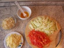 Vegetarische Frühlingsrolle mit Käse - Rezept