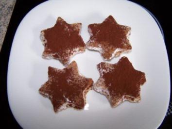 Tiramisu-Sterne - Rezept