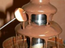 Leckereien mit dem Schokoladenbrunnen - Rezept