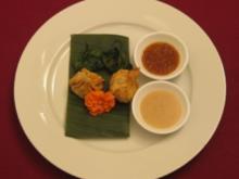 Wan Tans mit Chili-Pak-Choi und zwei Soßen - Knackig braun mit Grün - Rezept