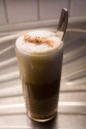 Rezept: Mandel-Zimt-Latte