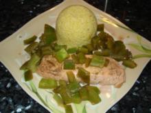 Lachs mit Gemüse-Couscous - Rezept