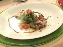 Salat vom Schwertfisch mit Grapefruit a la Buchholz - Rezept