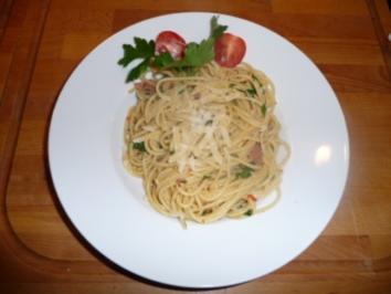 Spaghetti Aglio Olio - Rezept