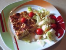 Lauchkuchen à la Michéle - Rezept