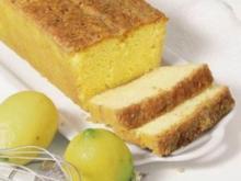 Getränkter Zitronencake - Rezept