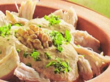 Rezept: Tscherkessisches Huhn  - Cerkez Tavugu