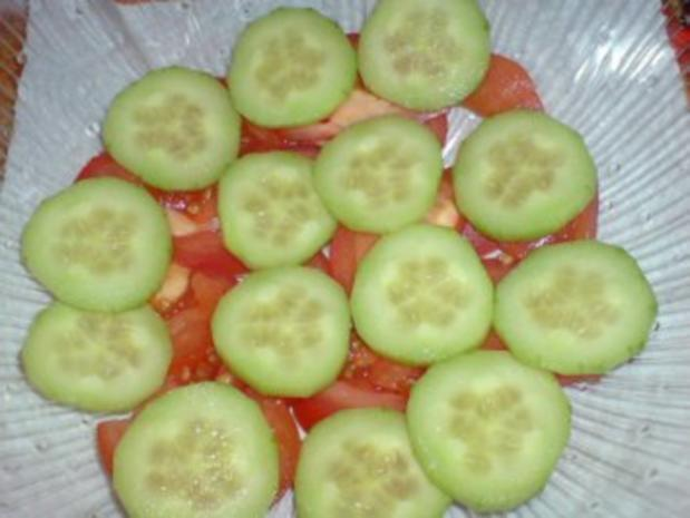 Schichtsalat mit Thunfischsoße - Rezept - Bild Nr. 4