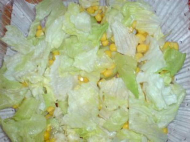 Schichtsalat mit Thunfischsoße - Rezept - Bild Nr. 5