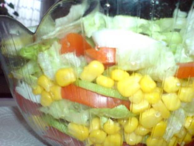 Schichtsalat mit Thunfischsoße - Rezept - Bild Nr. 10