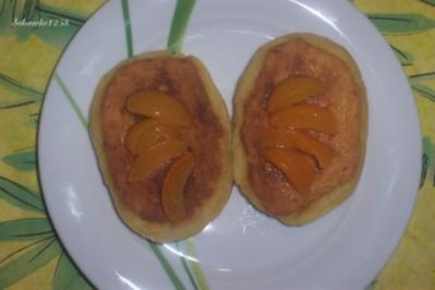 Gebackene Klöße aus gekochten Kartoffeln - Rezept