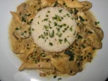 saftiges Hähnchen-Geschnetzeltes - Rezept