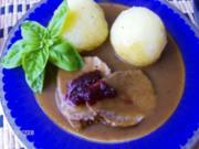 Rinderbraten in Weizenbier-Beize - Rezept