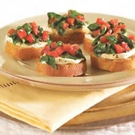 Pesto-Crostini - Blitzrezept - Rezept