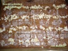 Lebkuchen: Gewürzschnitten mit Apfelmus - Rezept