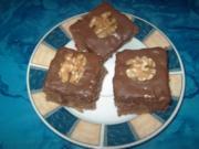 Weihnachts-Schoko-Brownies - Rezept