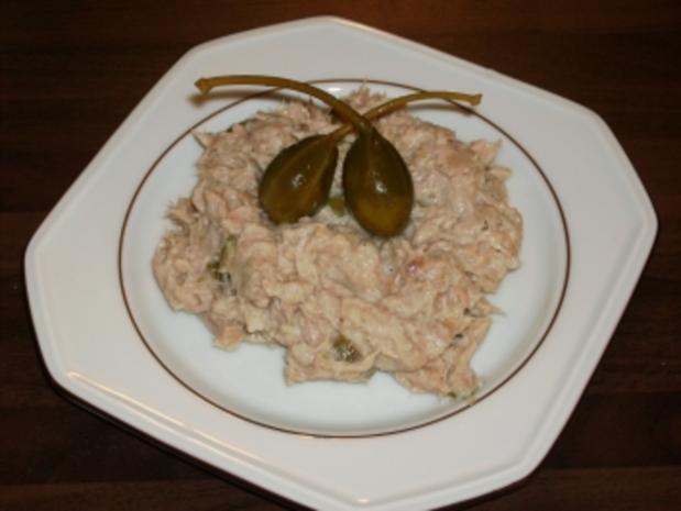 Thunfischcreme mit Kapern - Rezept