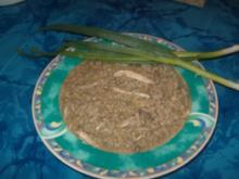 Eintopf vom Hähnchen an geräuchertem Grünkern - Freekeh - Rezept