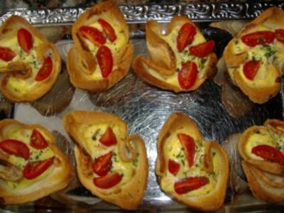 Herzhafte Ricotta Muffins - Rezept