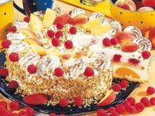 Pfirsich Melba Torte - Rezept